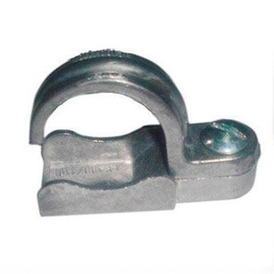 Abraçadeira de alumínio para tubos