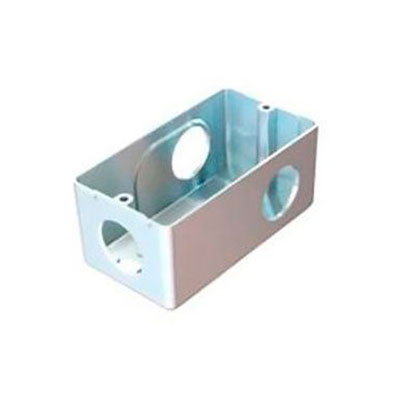 Condulete aluminio multiplo