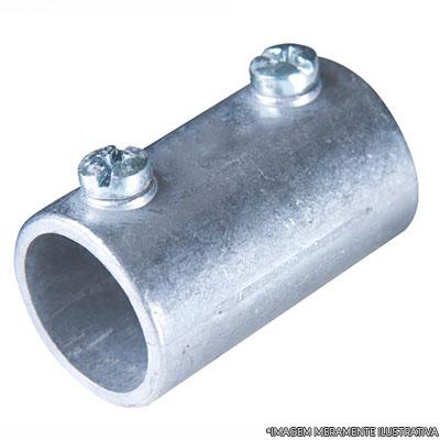 Emenda de eletroduto rigido com flexível